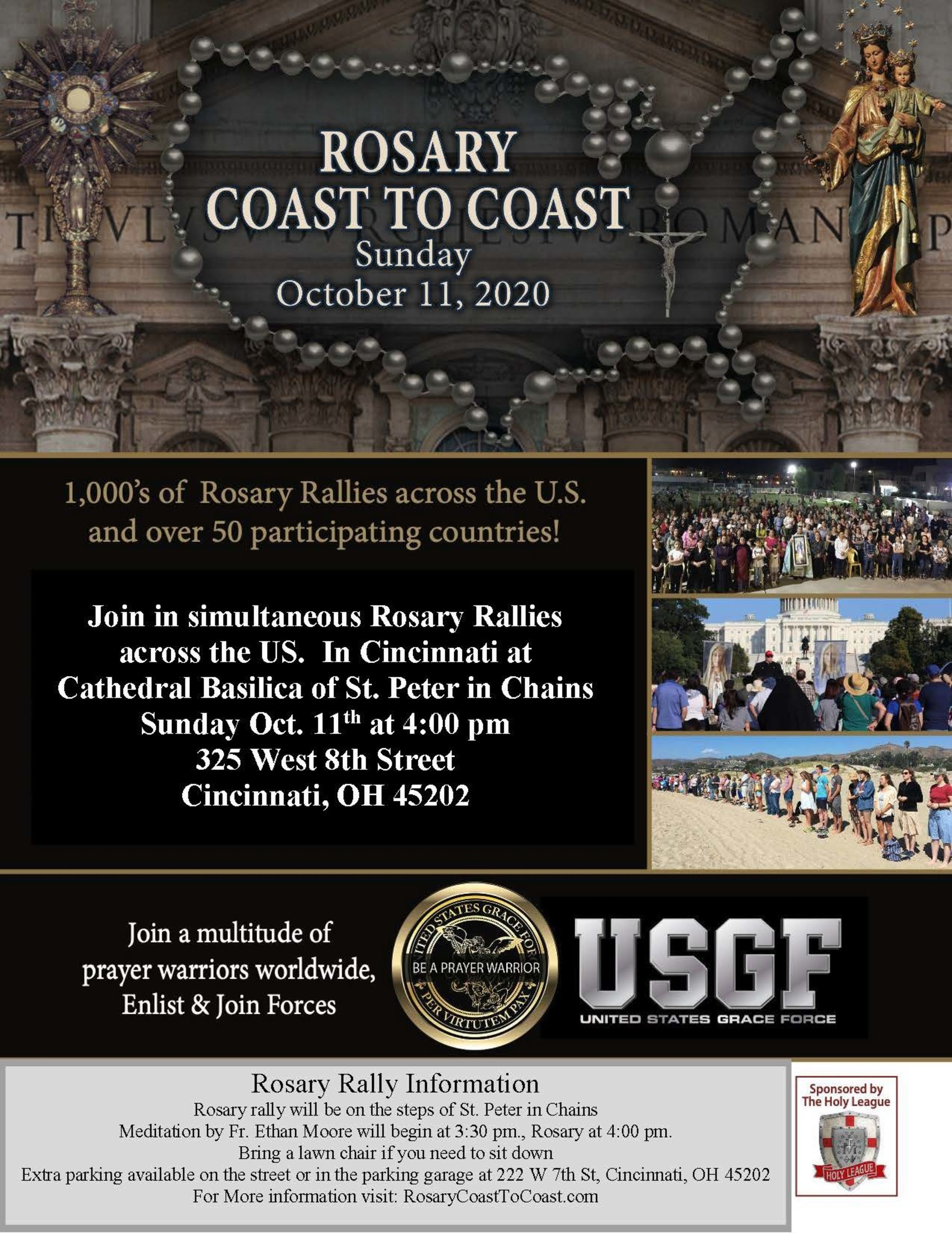 Rosary Coast To Coast 2020 Local Flyer 1