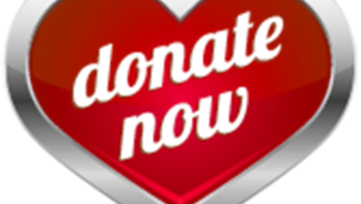 Donate Button Heart